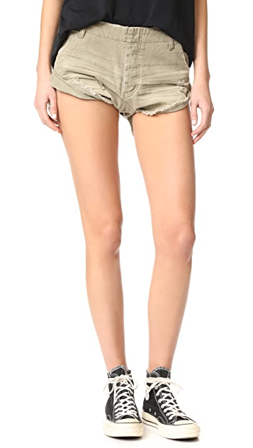One Teaspoon Militaire Sailor Shorts