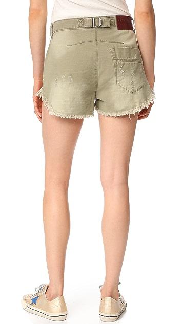 One Teaspoon Le Wolves Shorts