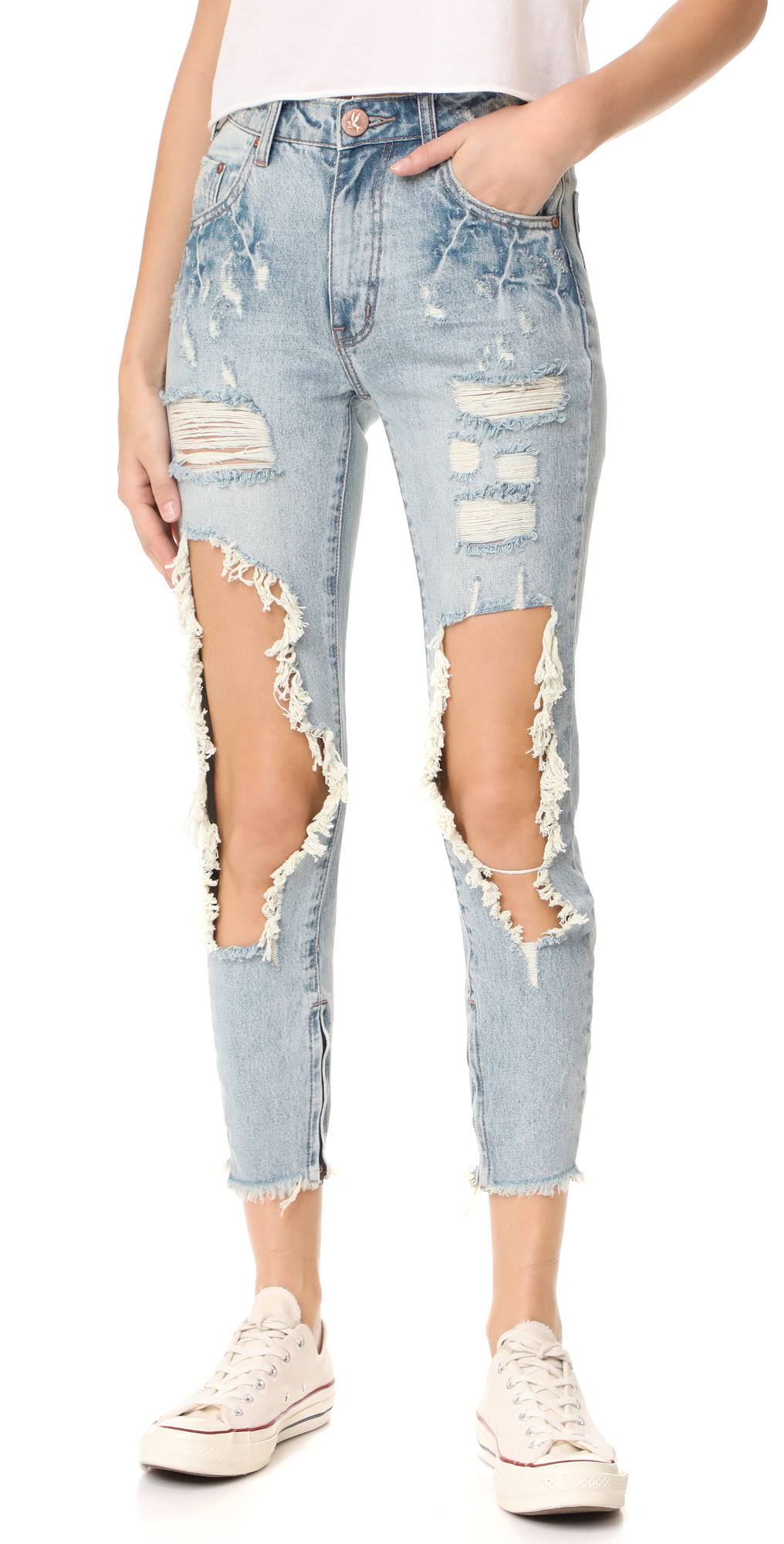 High Waist Freebird Jeans One Teaspoon