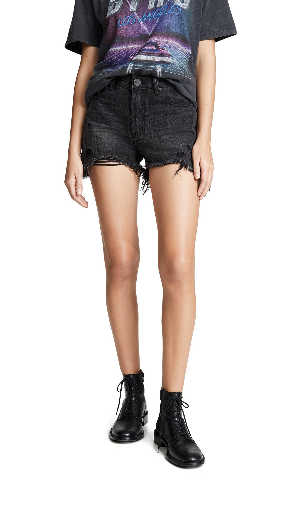 One Teaspoon High Waist Bonitas Shorts