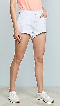 ab5f57a4b1 One Teaspoon. White Beauty Trucker Shorts