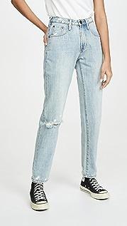 One Teaspoon Свободные прямые джинсы Awesome с высокой талией