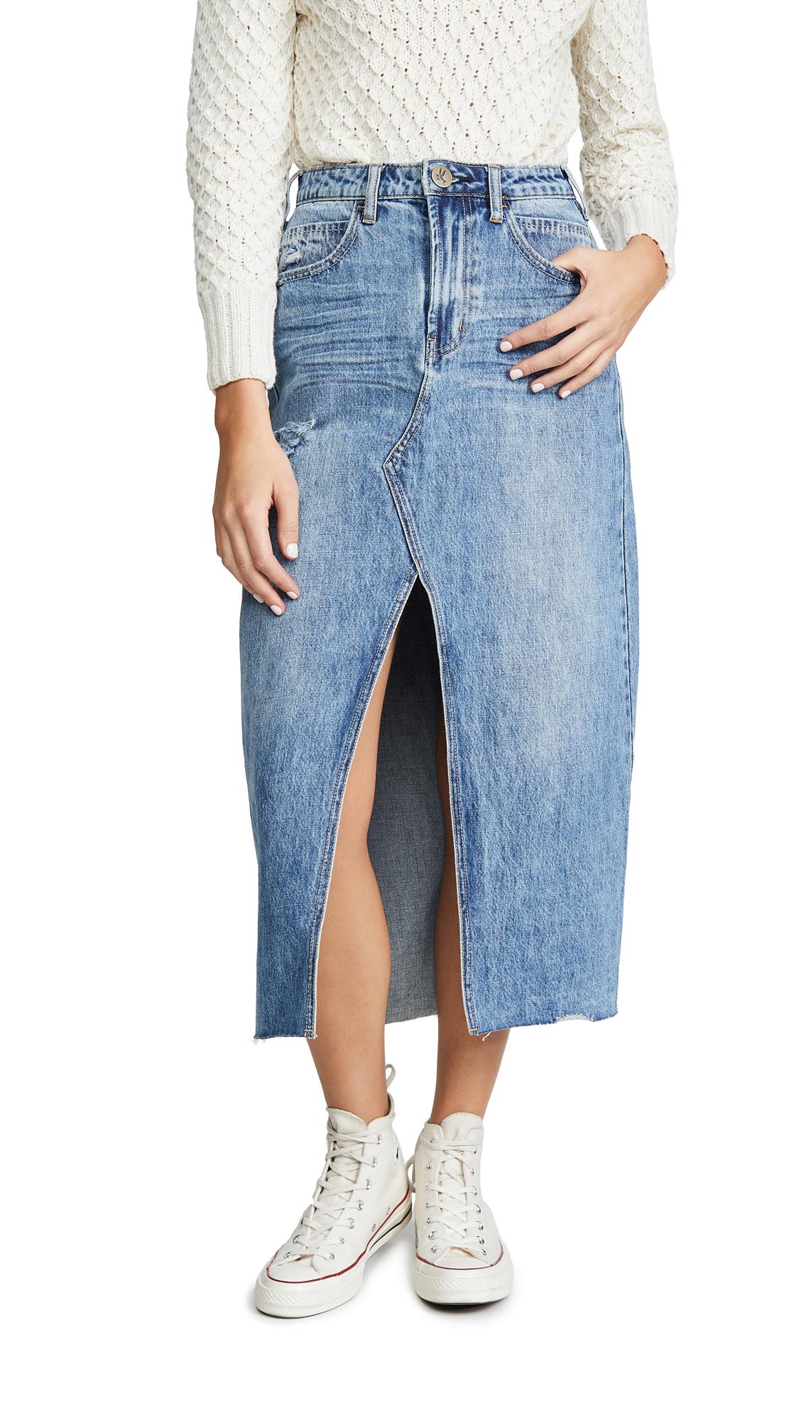Buy One Teaspoon online - photo of One Teaspoon Rocko Long Length Skirt