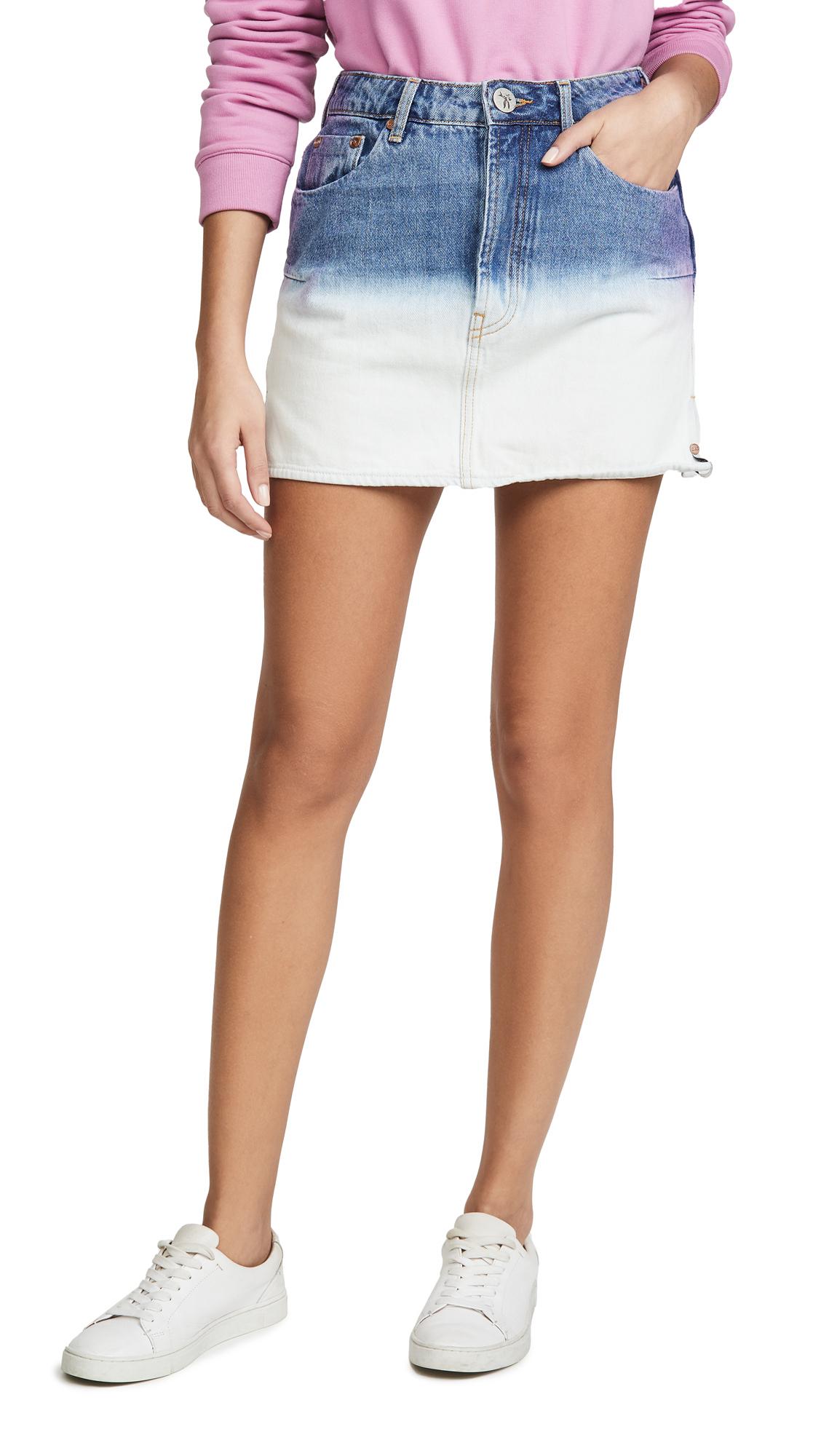 Buy One Teaspoon online - photo of One Teaspoon Dip Dye Vanguard Skirt