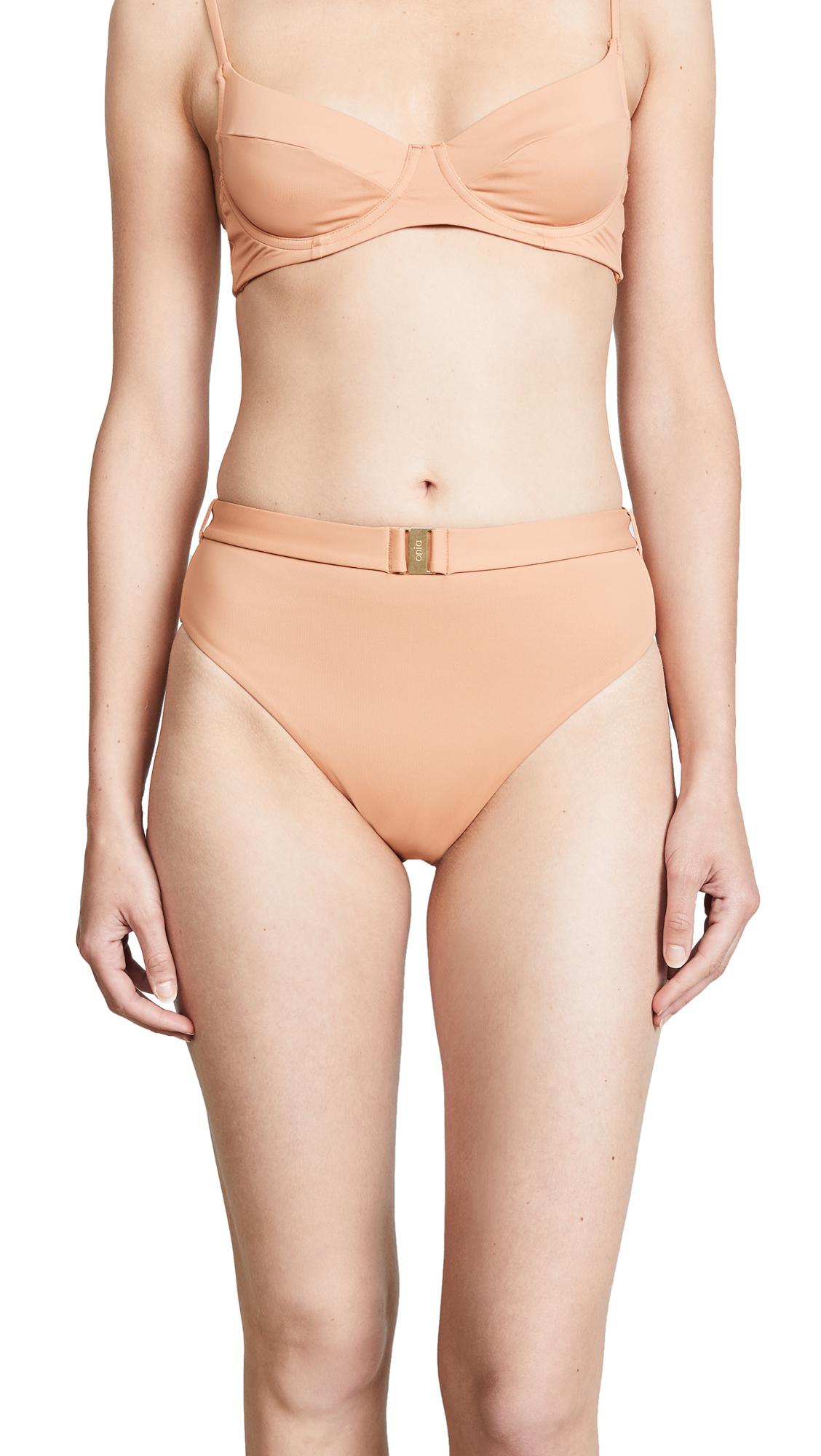 Onia x WeWoreWhat Emily Bikini Bottoms In Nude