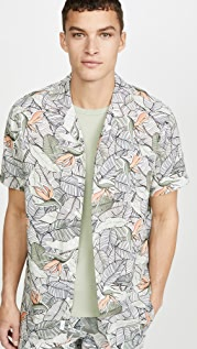 Onia Birds Of Paradise Short Sleeve Shirt