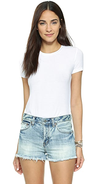 Only Hearts Rib T-Shirt Bodysuit