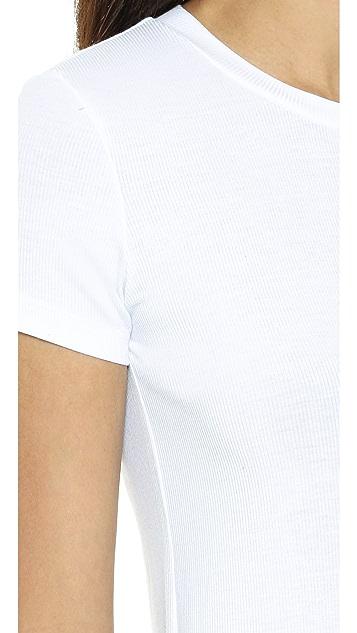 Only Hearts Rib T-Shirt Bodysuit
