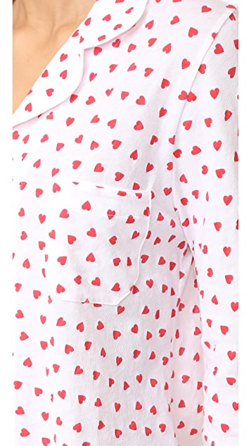 Only Hearts Heritage Heart PJ Set