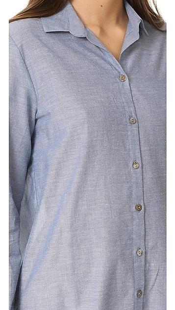 Only Hearts Chambray Boyfriend Shirt