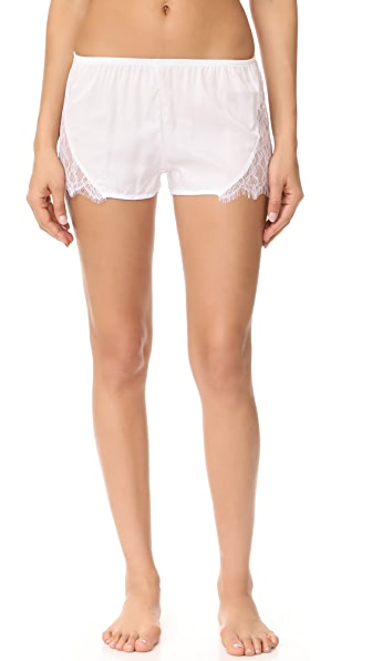 Only Hearts Paloma Beach Sleep Shorts - White