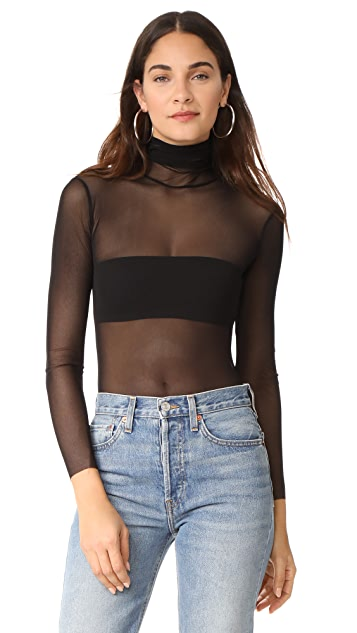 Only Hearts T Neck Bodysuit
