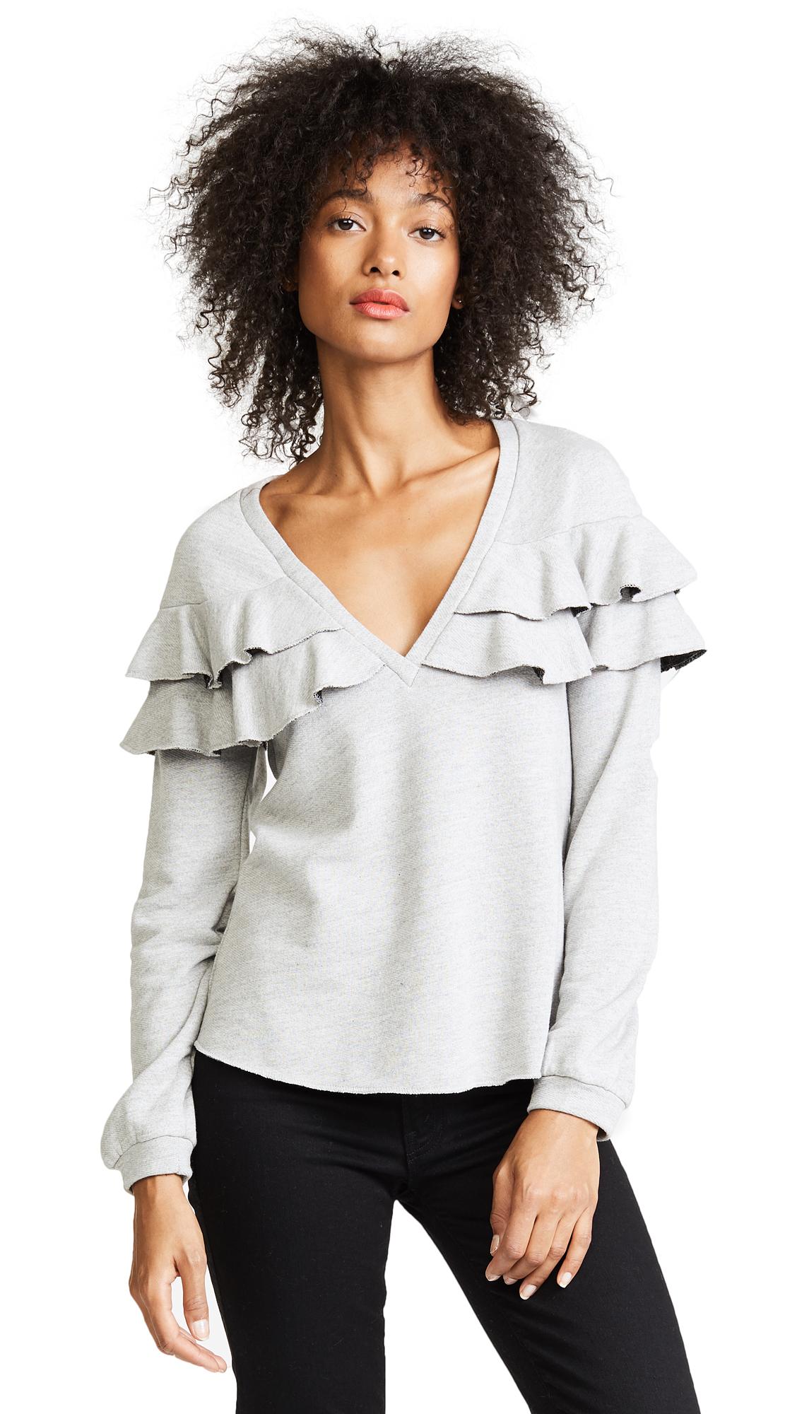 Only Hearts Ruffle Sweatshirt