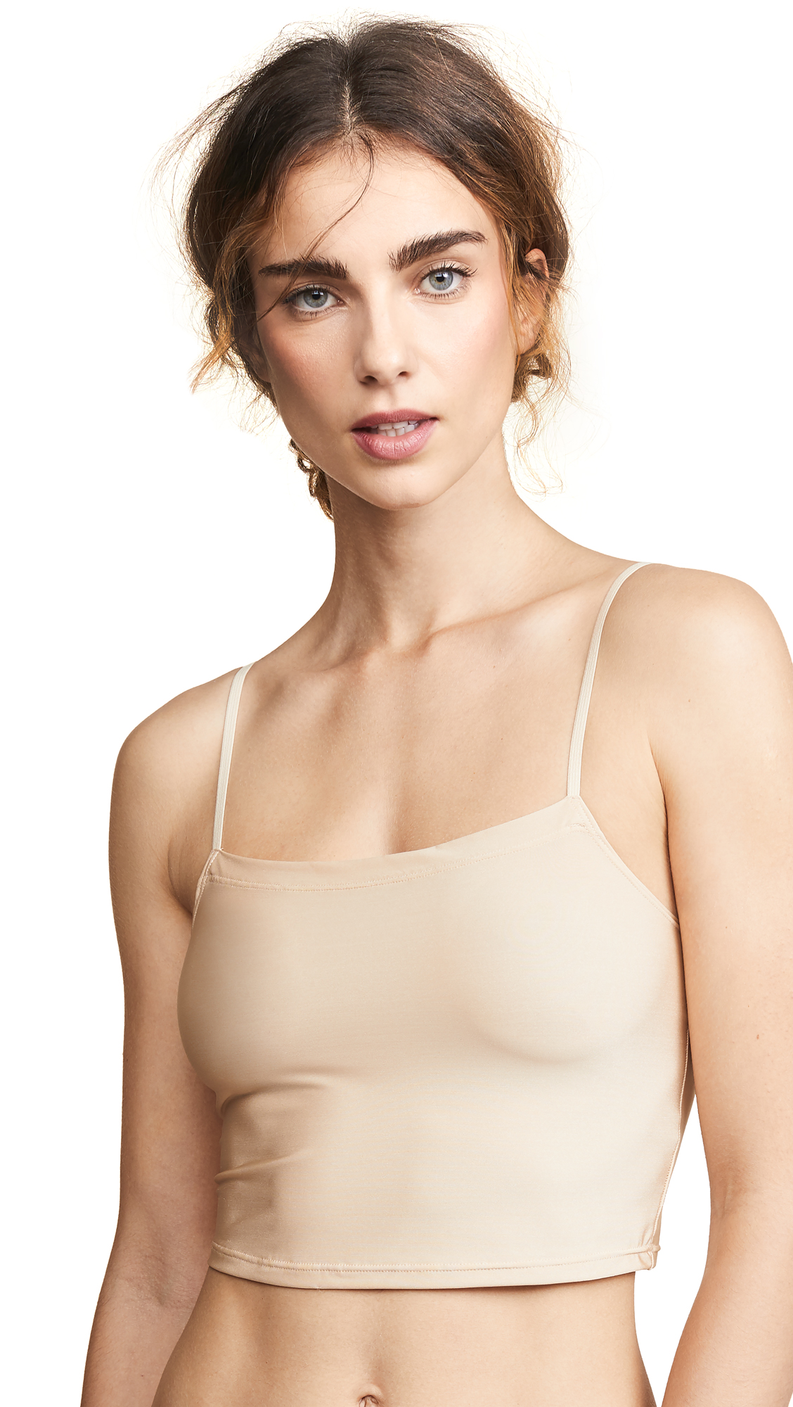 ONLY HEARTS Cropped Cami in Nude