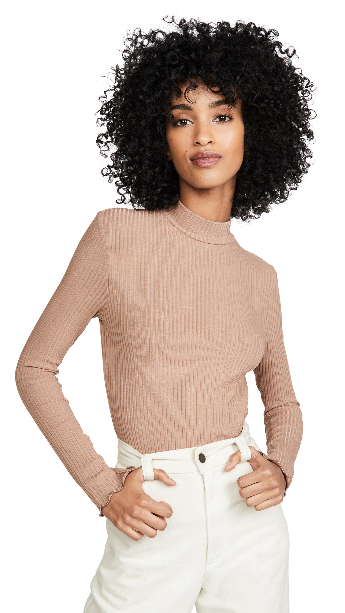 Buy Only Hearts online - photo of Only Hearts Eco Rib Turtleneck