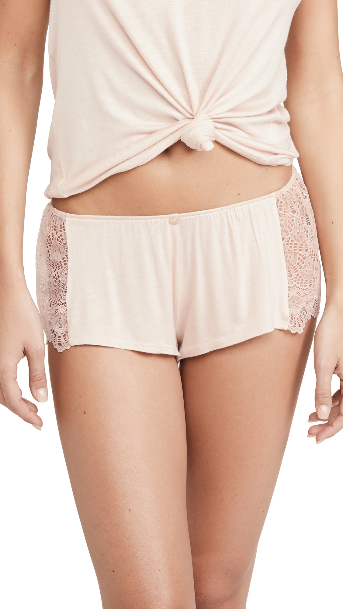 Buy Only Hearts online - photo of Only Hearts Venice Lace Hipster PJ Shorts