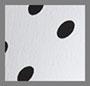 White/Black Polka Dot