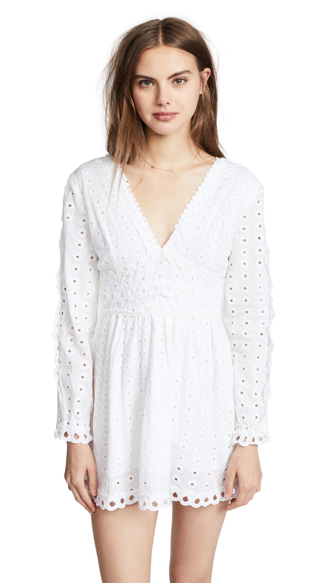 Valencia & Vine Mackenzie Dress In White