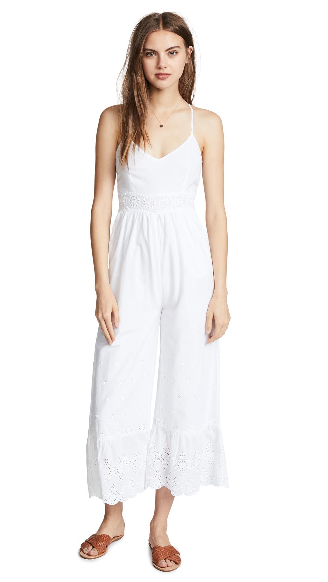 Valencia & Vine Lucila Jumpsuit In White