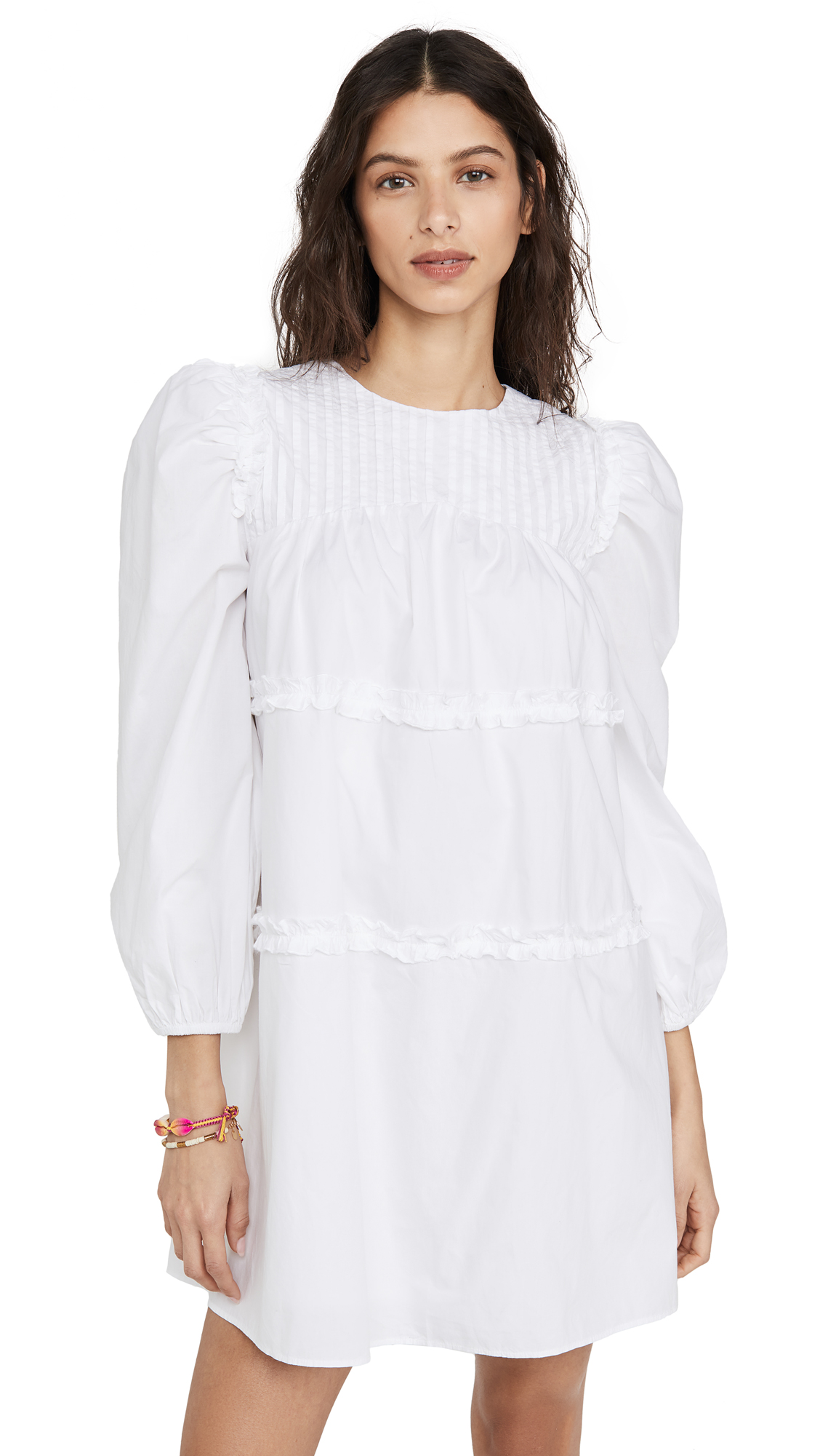 Buy Valencia & Vine online - photo of Valencia & Vine Poplin Ruffle Dress