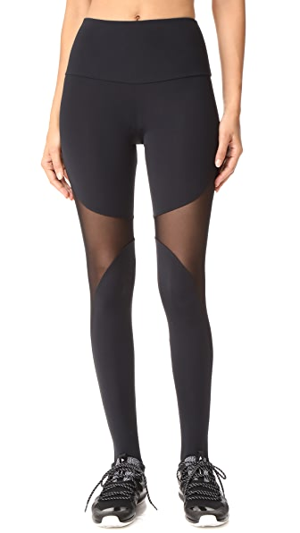 Onzie High Rise Stirrup Leggings - Black