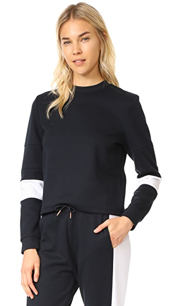 Onzie Blocked Sweatshirt - Black