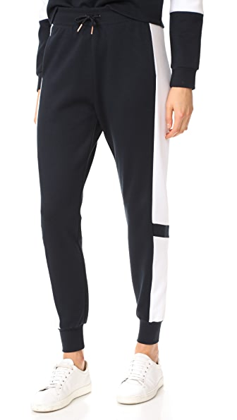 Onzie Blocked Sweatpants - Black