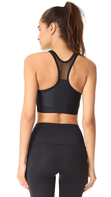 Onzie High Neck Mesh Sports Bra