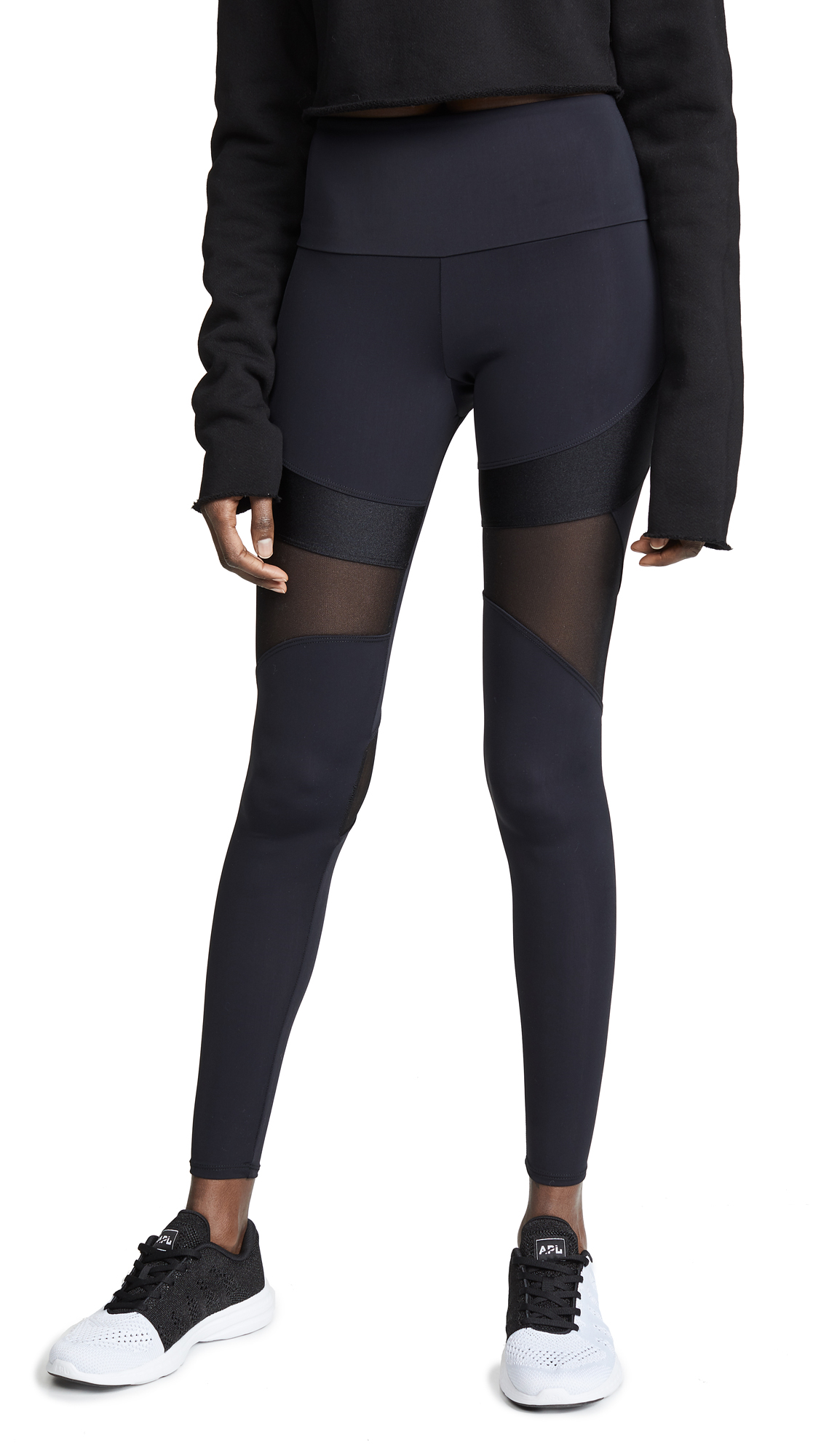 ONZIE Royal Leggings in Black Mystique