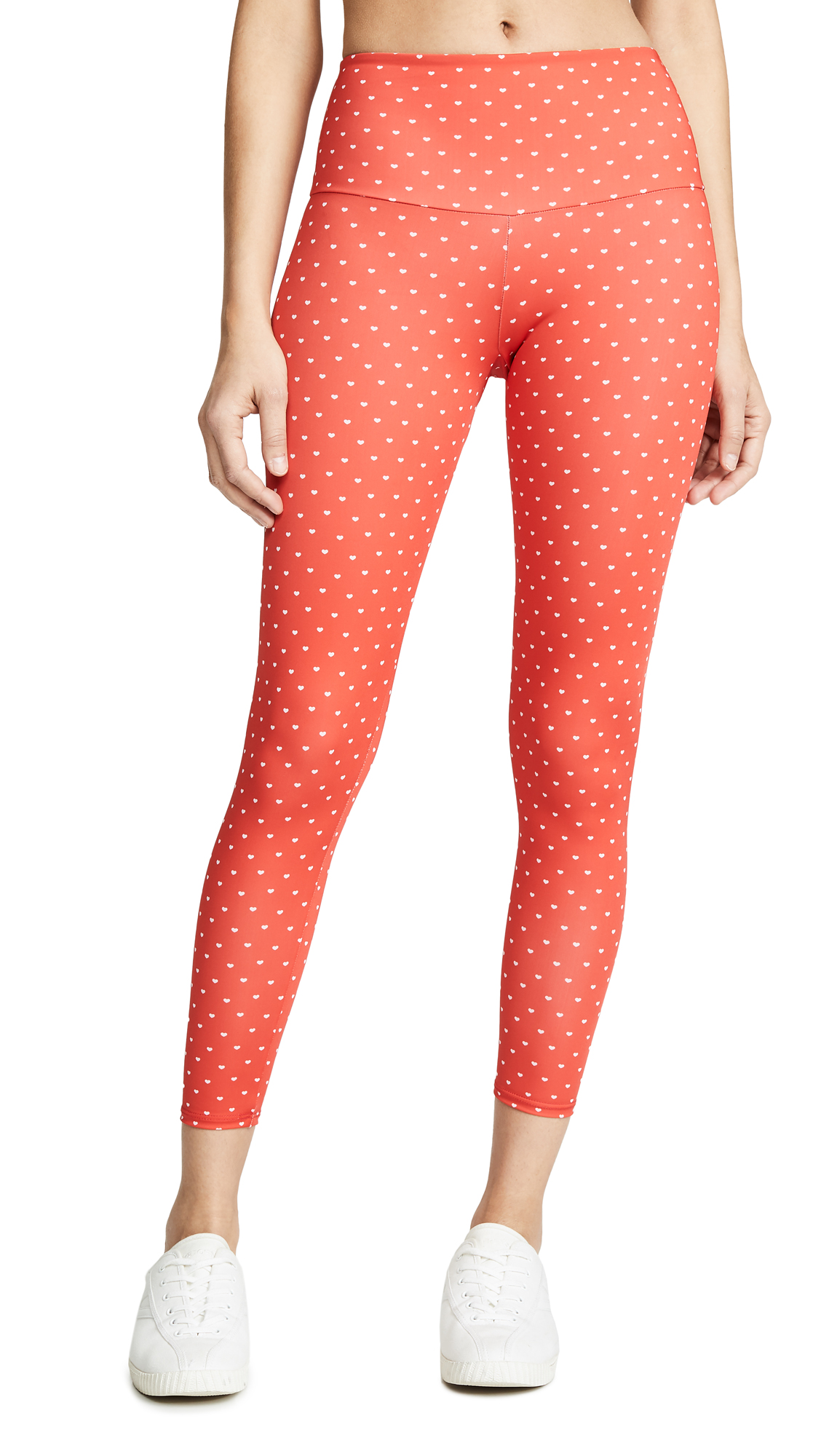 Onzie High Midi Hearts Leggings