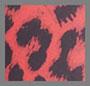 красный леопардовый принт