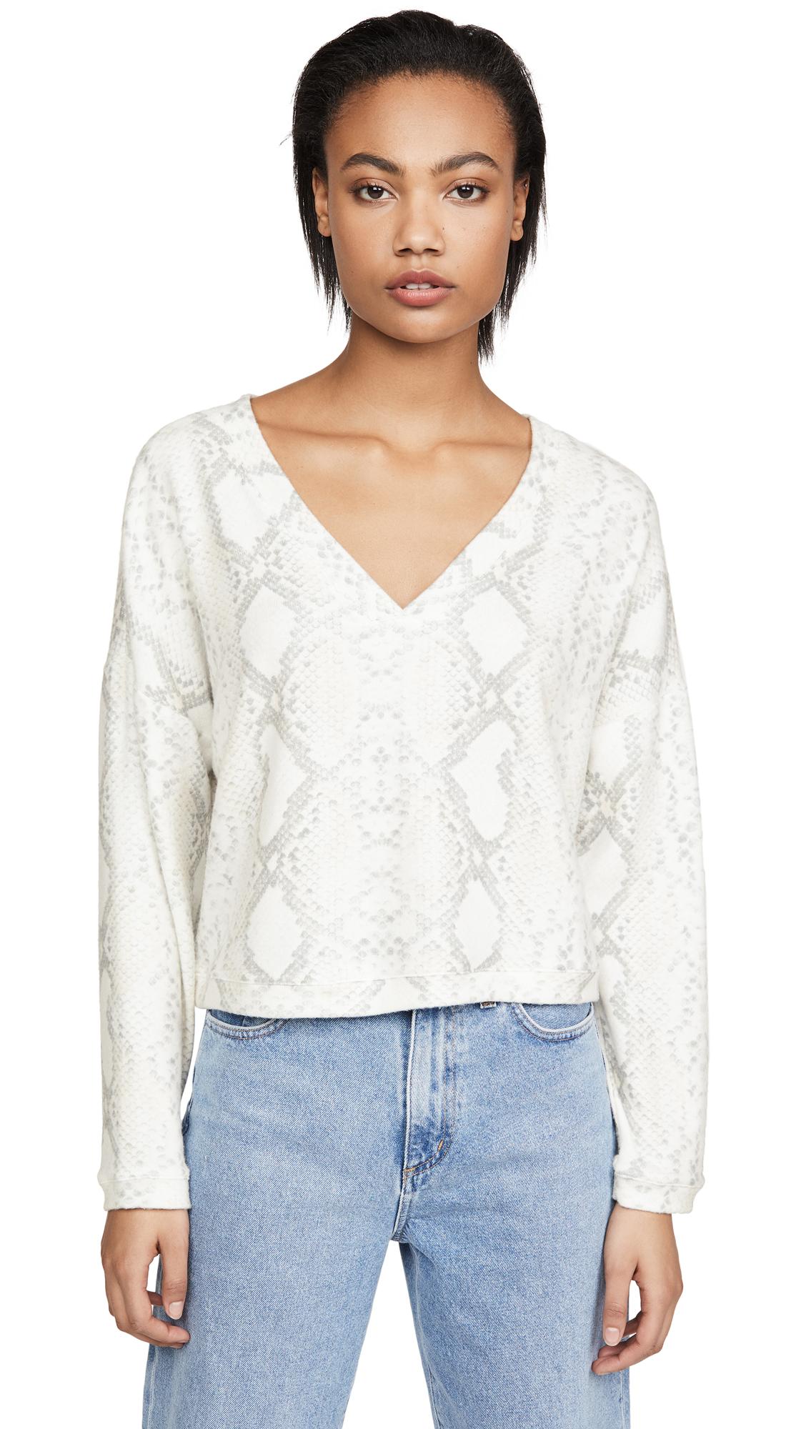 Buy Onzie online - photo of Onzie Weekend V Neck Sweatshirt