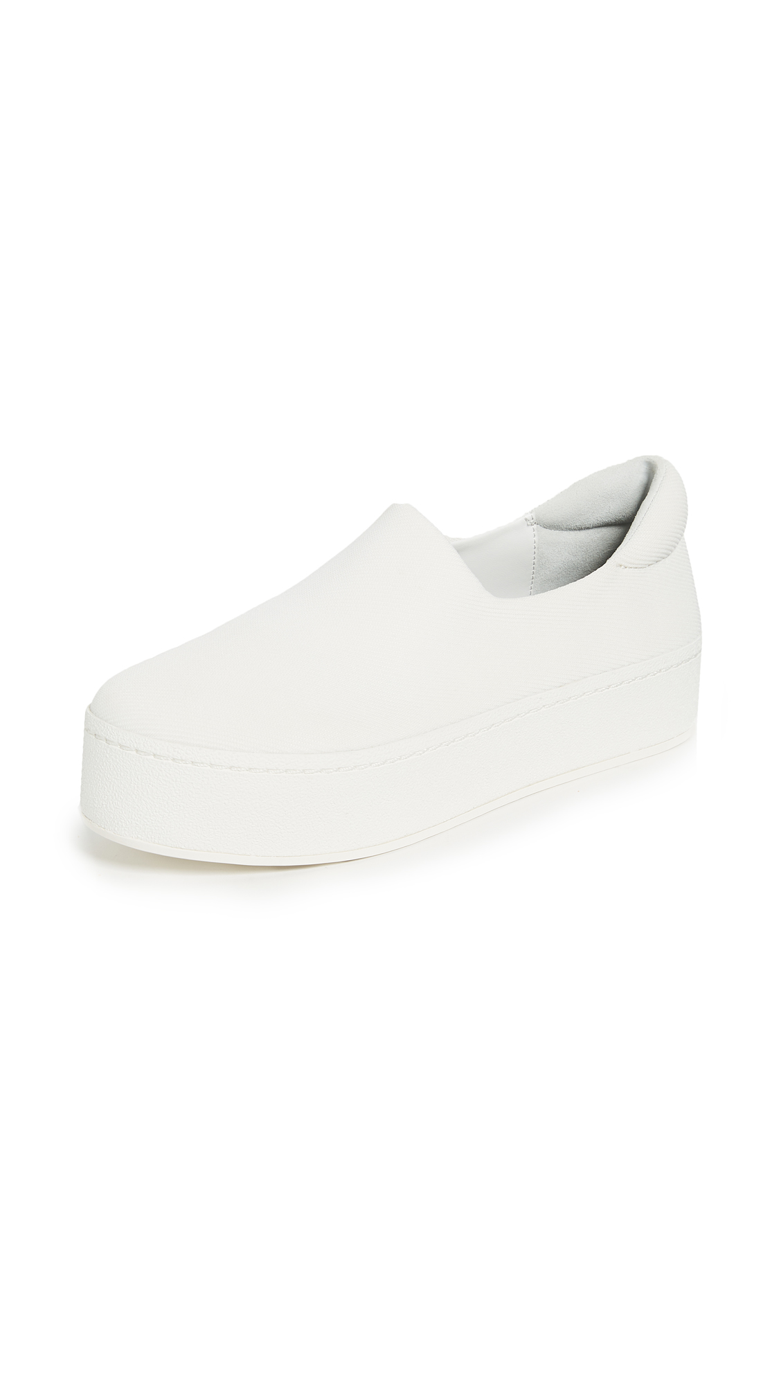 Opening Ceremony Cici Slip On Platform Sneakers - White