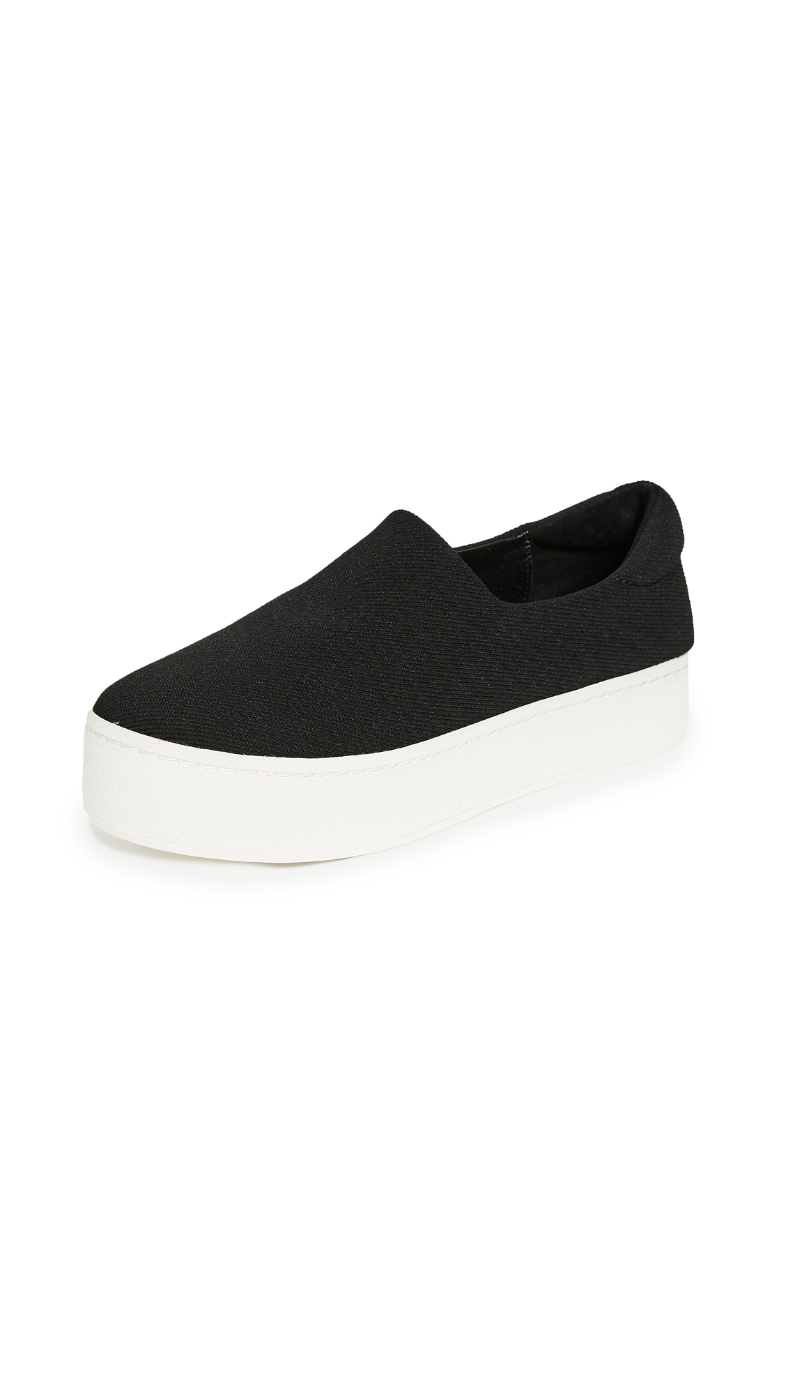 Opening Ceremony Cici Slip On Platform Sneakers - Black
