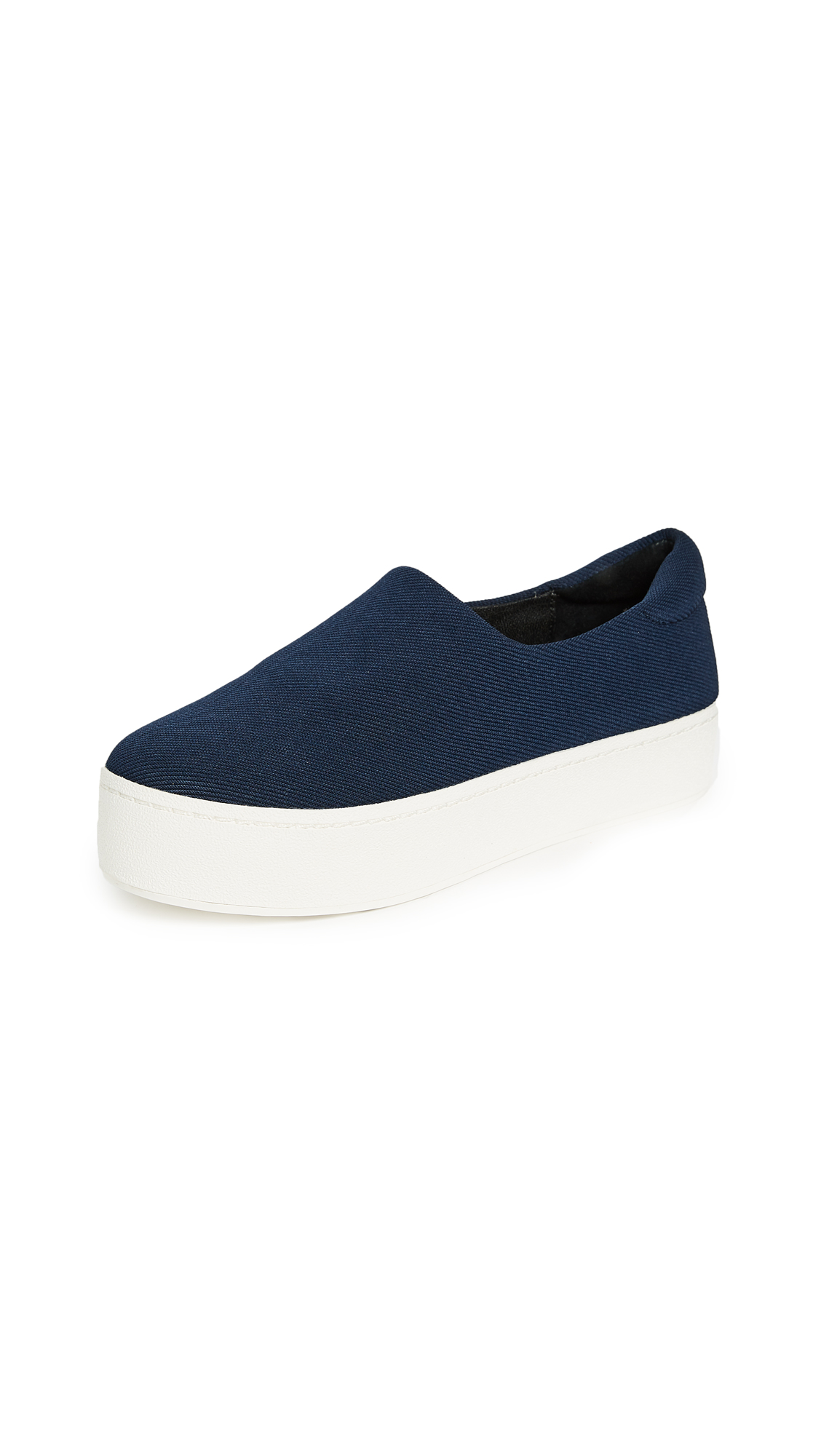 Opening Ceremony Cici Slip On Platform Sneakers - Navy