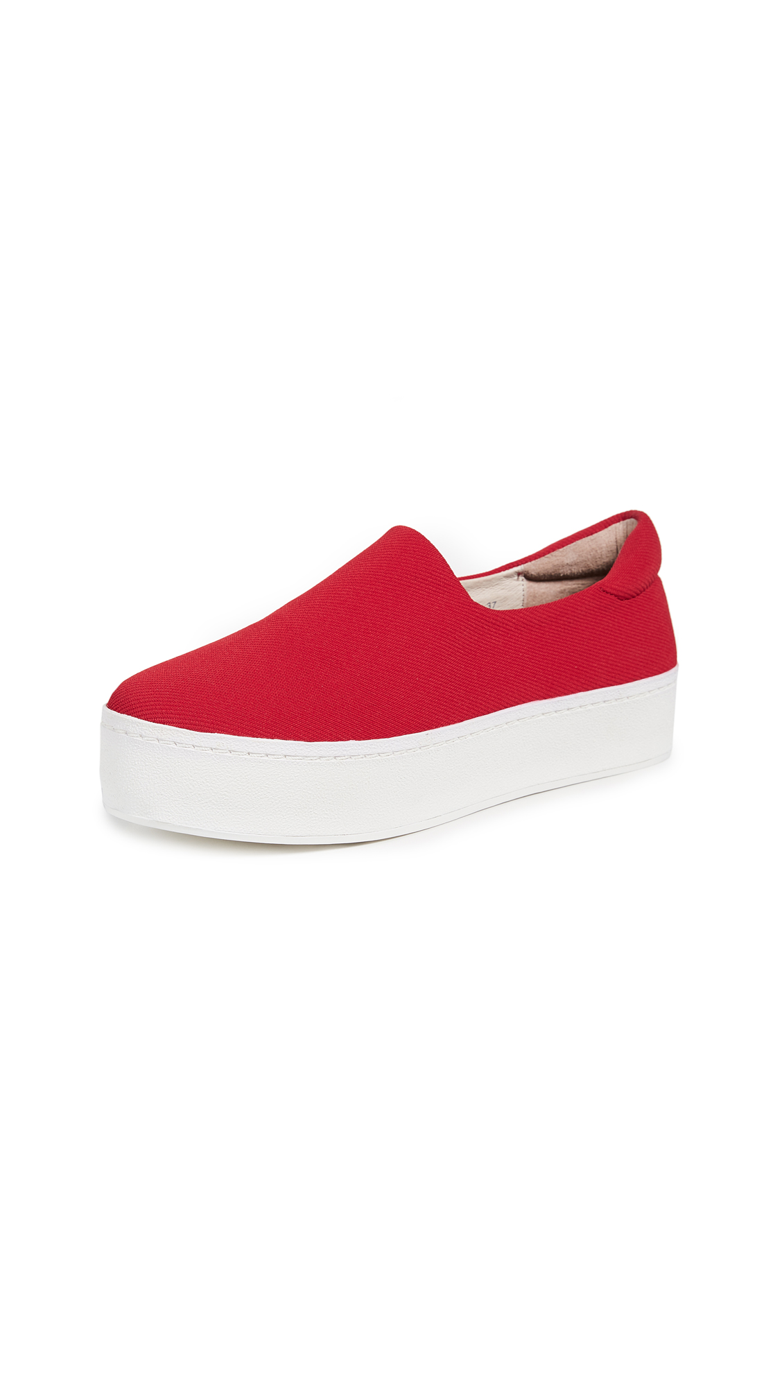 Opening Ceremony Cici Slip On Platform Sneakers - Red