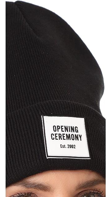 Opening Ceremony Logo Knit Beanie