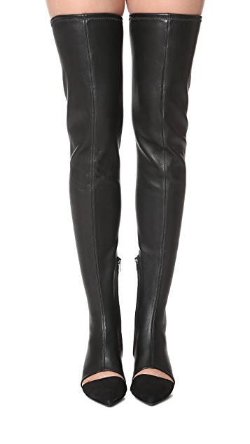 Opening Ceremony Genevoise Thigh High Boots