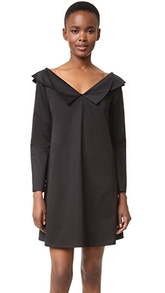 Opening Ceremony Off Shoulder Dress - Black