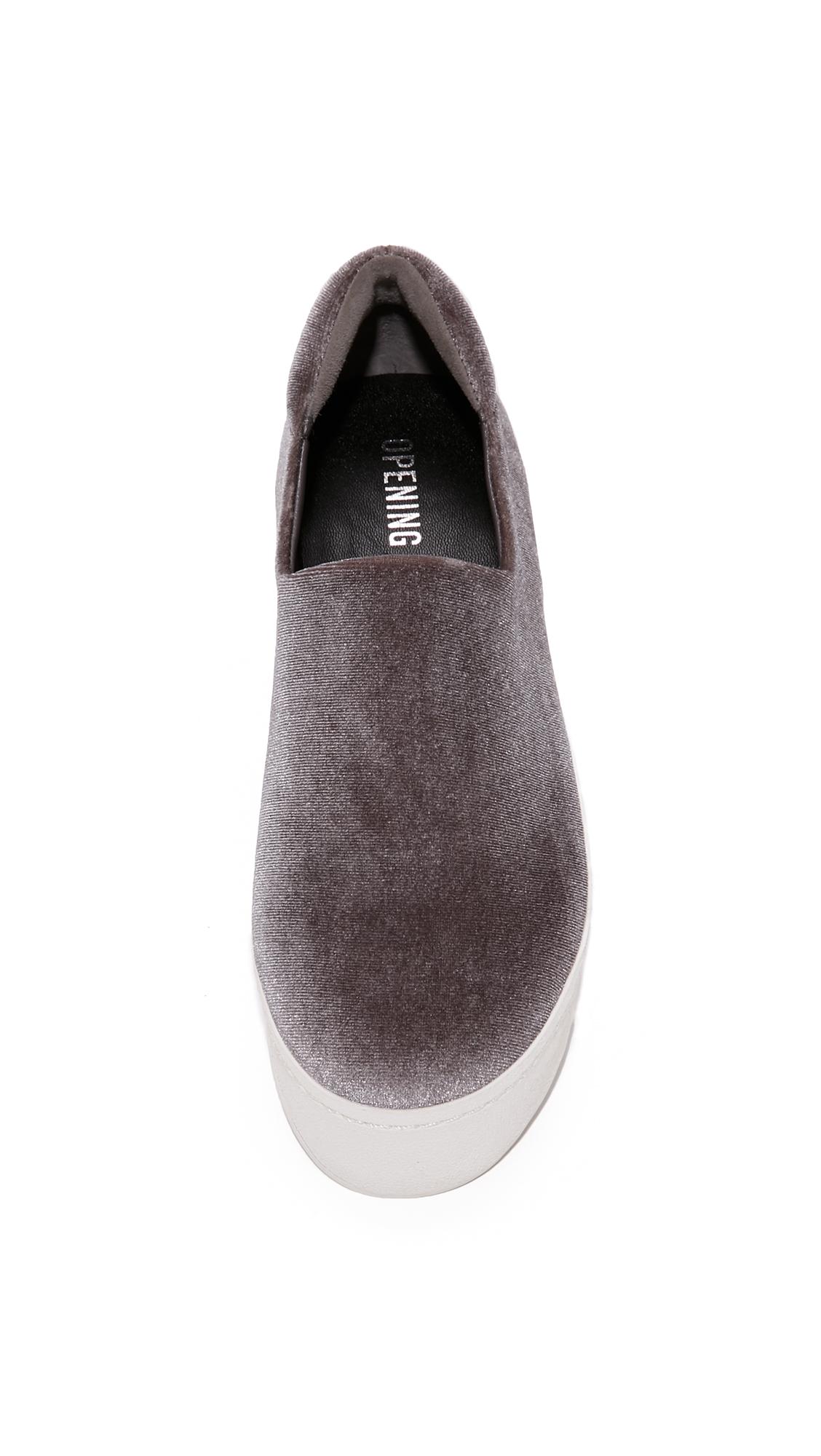 Opening Ceremony Cici Platform Slip On Sneakers Shopbop D Island Shoes Moccasine Lacoste Suede Blue
