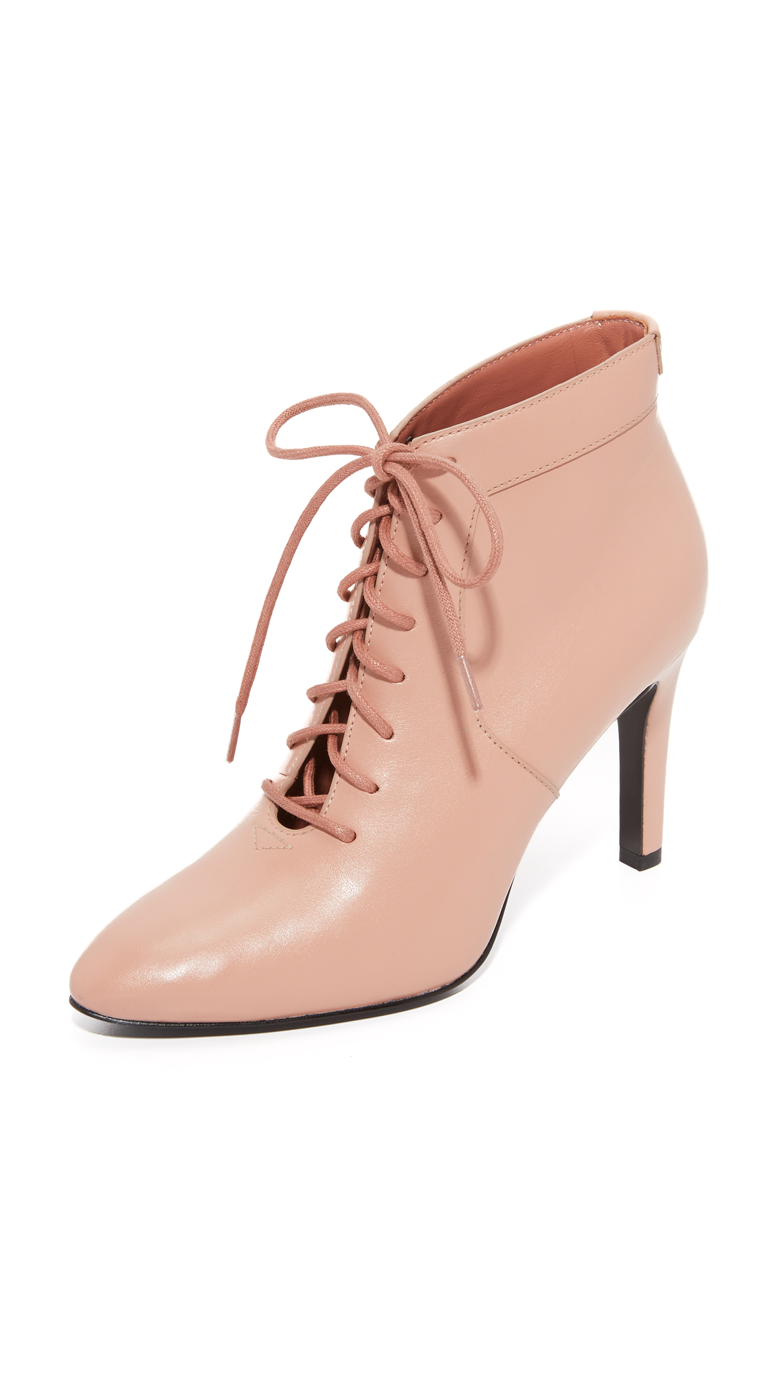 Opening Ceremony Mirzam Lace Up Booties - Desert
