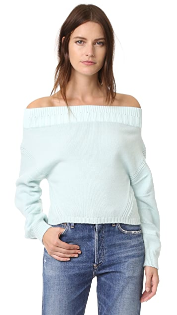 Opening Ceremony Off Shoulder Sweater