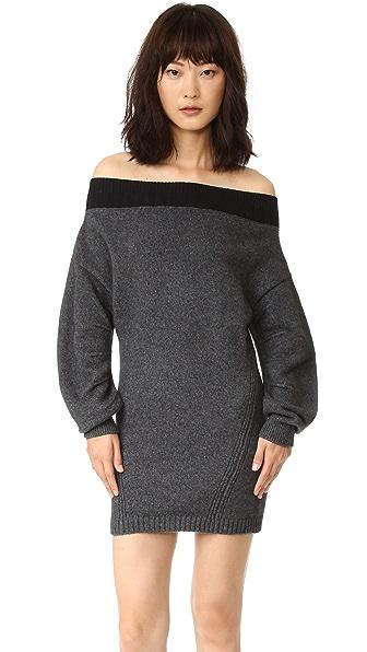 Opening Ceremony Off Shoulder Sweater Dress