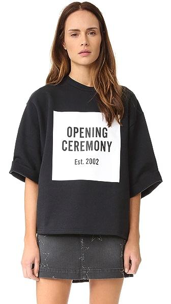 Opening Ceremony Футболка-толстовка с логотипом