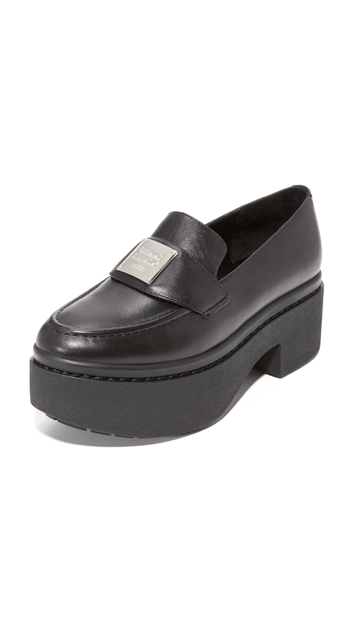 Photo of Opening Ceremony Agnees Platform Loafers Black - Opening Ceremony online