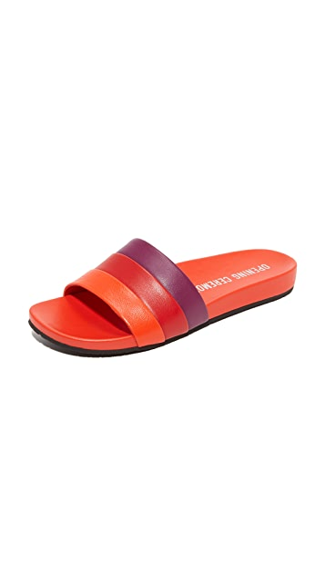 Opening Ceremony Kaatya Leather Slides