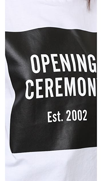 Opening Ceremony OC Logo Short Sleeve Tee