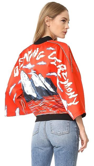 Opening Ceremony Reversible Kimono Bomber Jacket