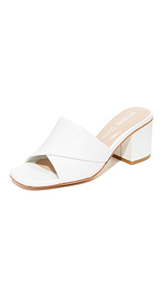 Opening Ceremony Nadyia Satin Heels - White