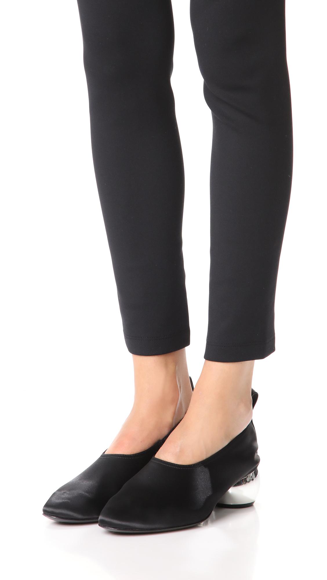 Opening Ceremony Leather Dalia Heels Low Price Cheap Online bzCM4q